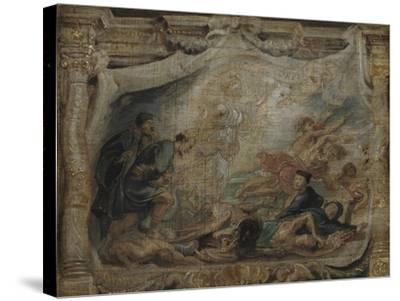 The Victory of the Eucharist over Heresy, C.1625-26--Stretched Canvas Print