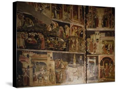 Italy, Emilia-Romagna, Parma, Cathedral of Santa Maria Assunta, Valeri Chapel Frescoes, 1423-1426--Stretched Canvas Print