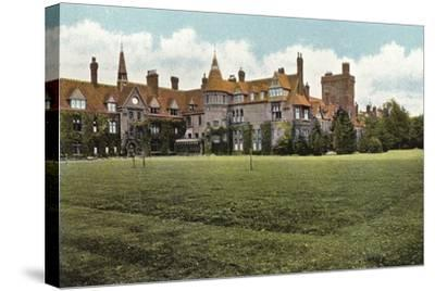 Girton College--Stretched Canvas Print