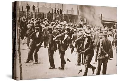 The Standard Oil Strike, Bayonne, New Jersey, 1915--Stretched Canvas Print