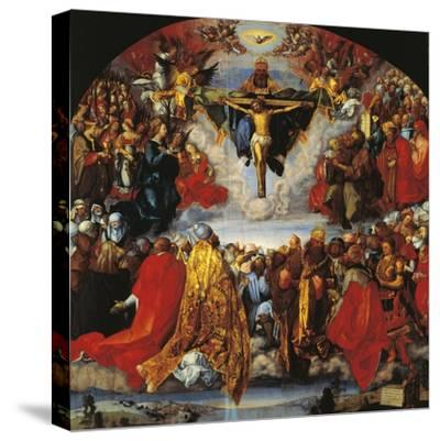 Austria, Vienna, the Trinity--Stretched Canvas Print
