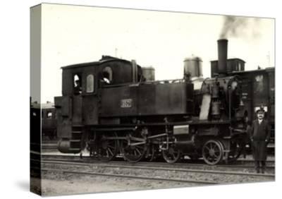 Foto Deutsche Dampflok Nr. 6501, KraUSS 6202, 1909--Stretched Canvas Print