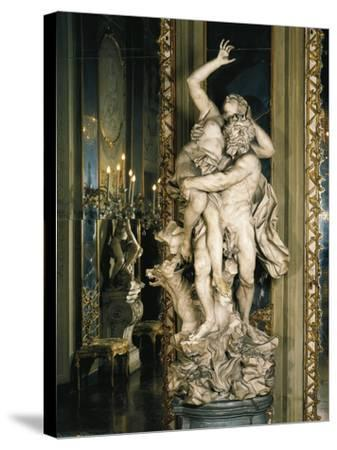 Rape of Proserpina--Stretched Canvas Print