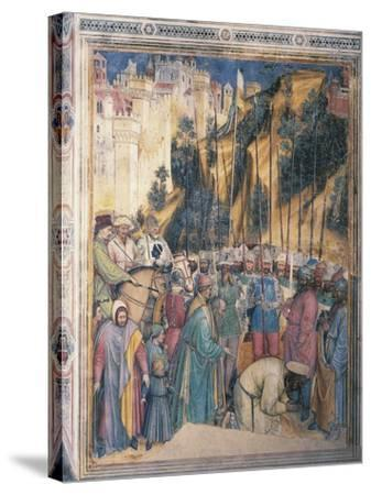 Beheading of St George, Scene Episodes from Life of St George, 1379-1384--Stretched Canvas Print