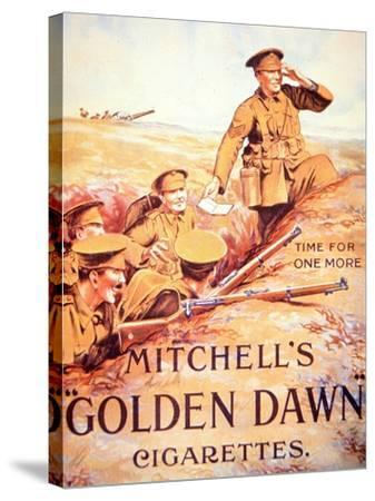 Mitchell's Golden Dawn Cigarettes', 1914-18--Stretched Canvas Print