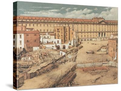 Italy, Naples, Albergo Dei Poveri--Stretched Canvas Print