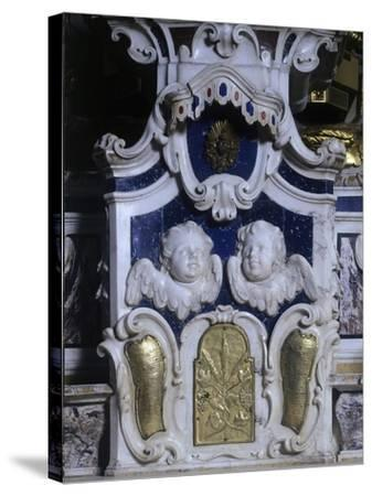 Detail of Altar of Lecce Cathedral, Apulia, Italy--Stretched Canvas Print