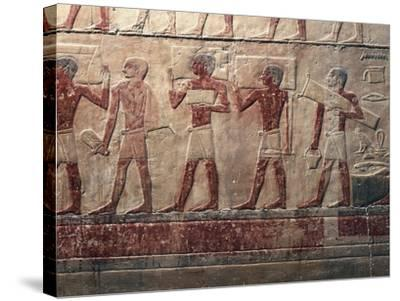 Egypt, Saqqara--Stretched Canvas Print