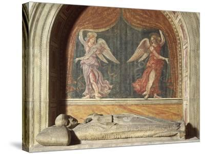 Henry VII of Luxembourg's Funeral Monument, 1313-1315--Stretched Canvas Print