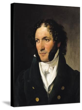 Portrait of Ferdinando Paer--Stretched Canvas Print
