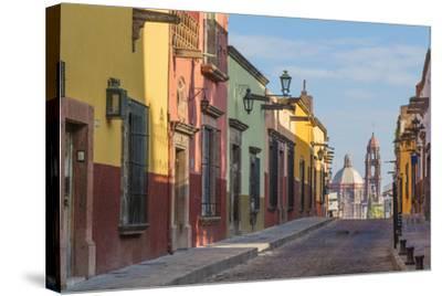 Mexico, San Miguel De Allende. Street Scene-Jaynes Gallery-Stretched Canvas Print