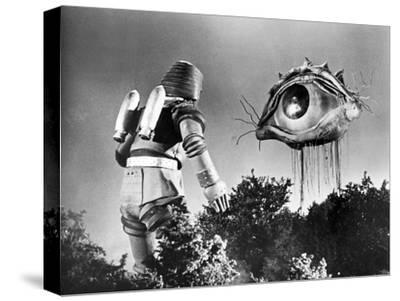 Johnny Sokko and His Flying Robot--Stretched Canvas Print