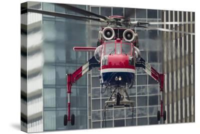 An Erickson Aircrane S-64 Aircrane Heavy-Lift Helicopter--Stretched Canvas Print