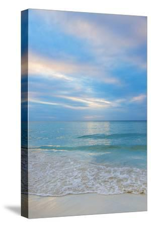 Jamaica, Seascape at Sunset-Tetra Images-Stretched Canvas Print