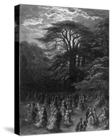 Chiswick House-Gustave Dor?-Stretched Canvas Print