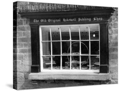 Bakewell Pudding Shop-J. Chettlburgh-Stretched Canvas Print
