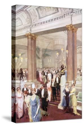 Social, Savoy Banquet 20C-Max Cowper-Stretched Canvas Print