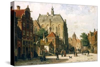 Amsterdam-Willem Koekkoek-Stretched Canvas Print
