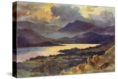 Windermere (Haslehust)-Ernest W Haslehust-Stretched Canvas Print