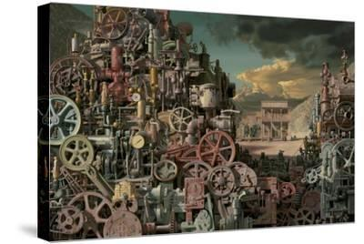 Machinist-Bob Byerley-Stretched Canvas Print
