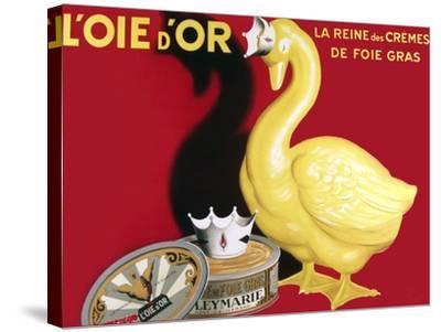 Loie D or La Reine Des Cremes--Stretched Canvas Print