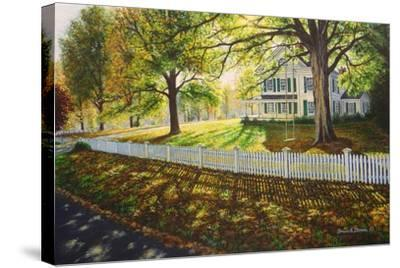 Northfield Homestead-Bruce Dumas-Stretched Canvas Print