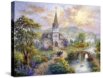 Pray for World Peace-Nicky Boehme-Stretched Canvas Print
