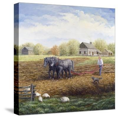 The Land Provides-Kevin Dodds-Stretched Canvas Print