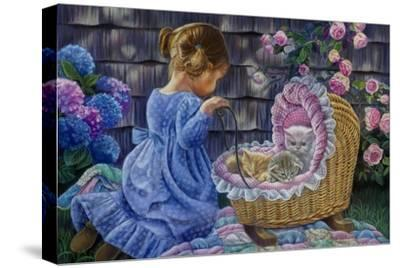 Tender Moments-Tricia Reilly-Matthews-Stretched Canvas Print