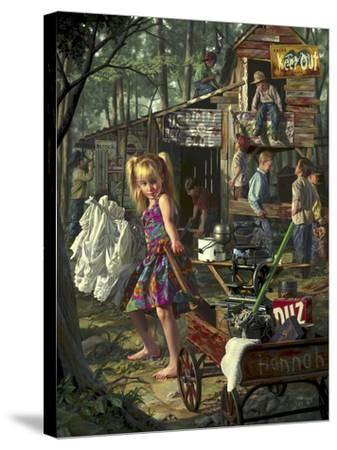 The Clubhouse-Bob Byerley-Stretched Canvas Print