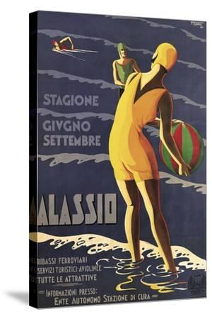 Alassio--Stretched Canvas Print
