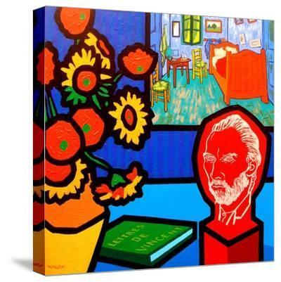 Homage to Van Gogh 3-John Nolan-Stretched Canvas Print