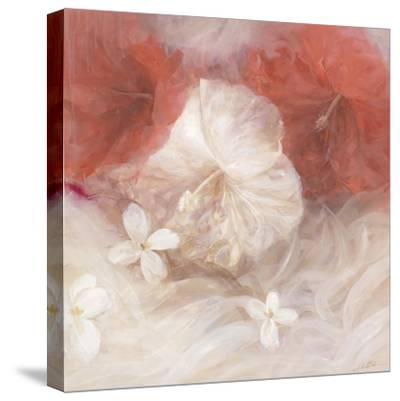 Hibiscus IV-li bo-Stretched Canvas Print
