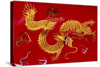 Chinese Dragon, Shenzen, China-Dallas and John Heaton-Stretched Canvas Print