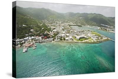 Road Town on Tortola in British Virgin Islands-Macduff Everton-Stretched Canvas Print