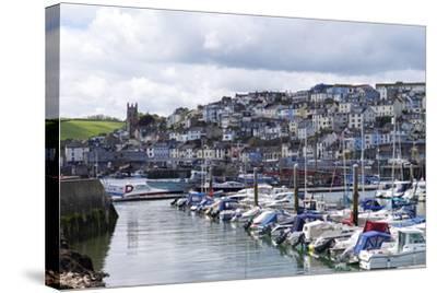Brixham Harbour and Marina, Devon, England, United Kingdom, Europe-Rob Cousins-Stretched Canvas Print