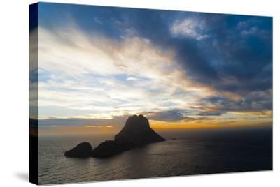 Sunset, Es Vedra and Vedranell, Ibiza, Balearic Islands, Spain, Mediterranean, Europe-Emanuele Ciccomartino-Stretched Canvas Print