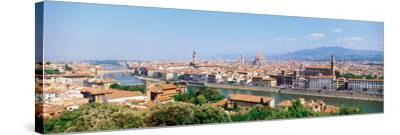 City Skyline Toscana Firenze Italy--Stretched Canvas Print