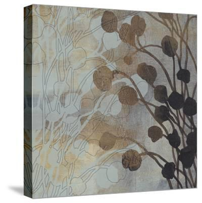 Spa Blue and Gold II-Tim O'toole-Stretched Canvas Print