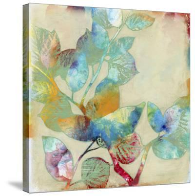 Merging Leaves I-Jennifer Goldberger-Stretched Canvas Print