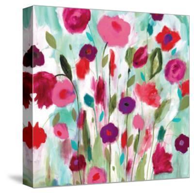 Happy Garden-Carrie Schmitt-Stretched Canvas Print