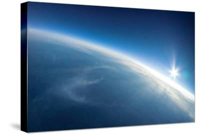 Near Space Photography - 20Km above Ground / Real Photo-dellm60-Stretched Canvas Print