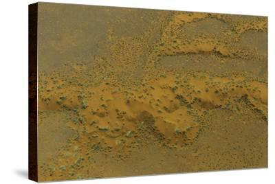An Aerial View of the Dunes at Namib-Naukluft National Park, in the Namib Desert-Jonathan Irish-Stretched Canvas Print