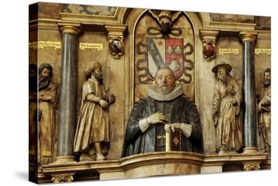 Sir Henry Savile, a Scholar and Translator of the King James Bible-Jim Richardson-Stretched Canvas Print