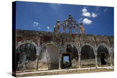 The Ruins of the Once Elegant Hacienda Mucuyche-Macduff Everton-Stretched Canvas Print