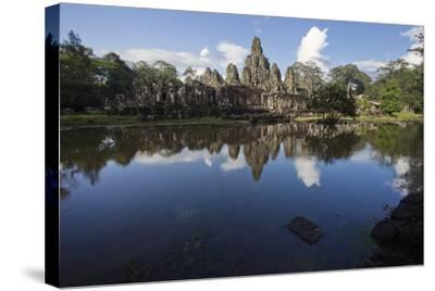 Bayon, the Premier Temple Within Angkor Thom-Scott S^ Warren-Stretched Canvas Print