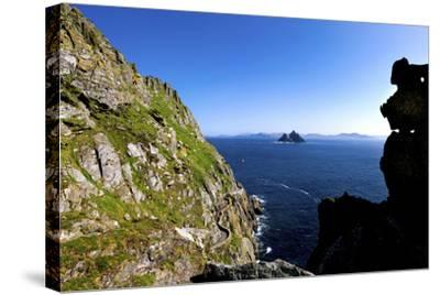 Skellig Michael, County Kerry-Chris Hill-Stretched Canvas Print
