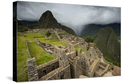 Machu Picchu-Michael Melford-Stretched Canvas Print
