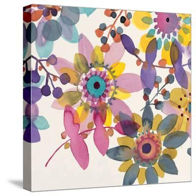 Candy Flowers 3-Karin Johannesson-Stretched Canvas Print