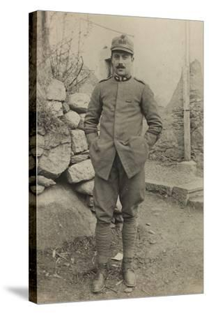 World War I: Portrait of Official--Stretched Canvas Print